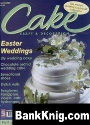 Журнал Cake Craft & Decoration №125 - April 2009 pdf  9,25Мб