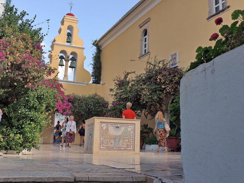 монастырь Палеокастрица (Paleokastritsa)