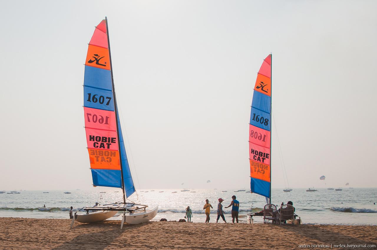 Пляж Бага, Гоа