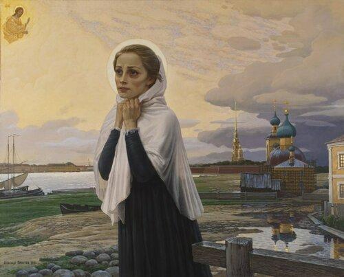 Святая блаженная Ксения Петербургская. Надежда после грозы.