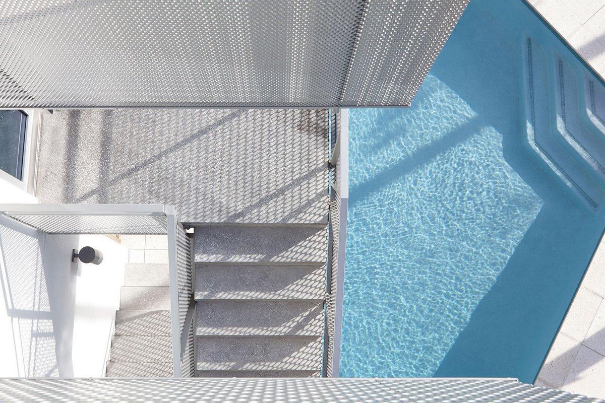 Traction Architecture, Seagrape House, частный дом на берегу океана, дом на берегу моря фото, обзор роскошного частного дома, особняк во Флориде