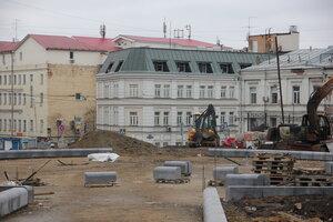 Искажение облика Хитровской площади. 1.11.2014
