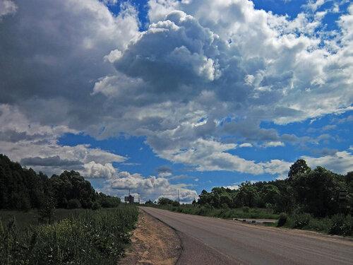 По дороге с облаками !