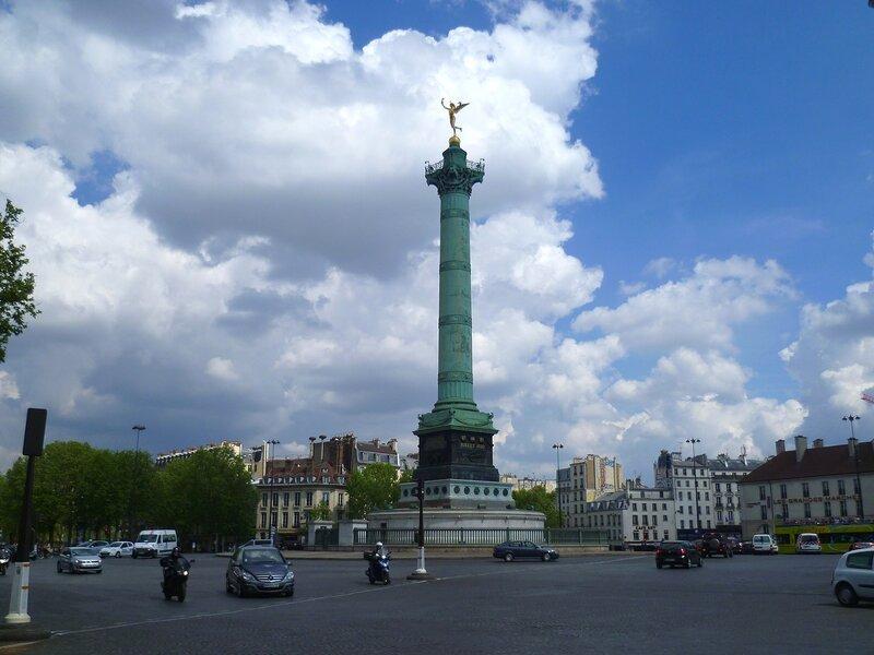Париж, площадь Бастилии (Paris, Place de la Bastille)