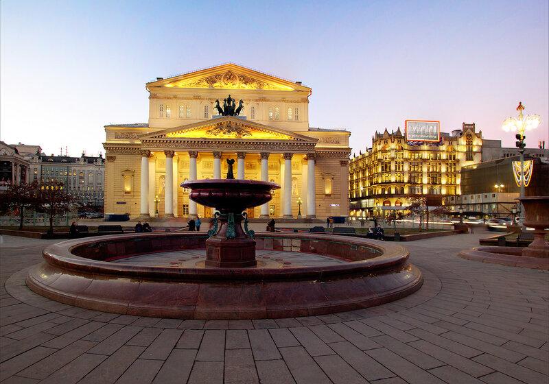 Москва. Большой театр.