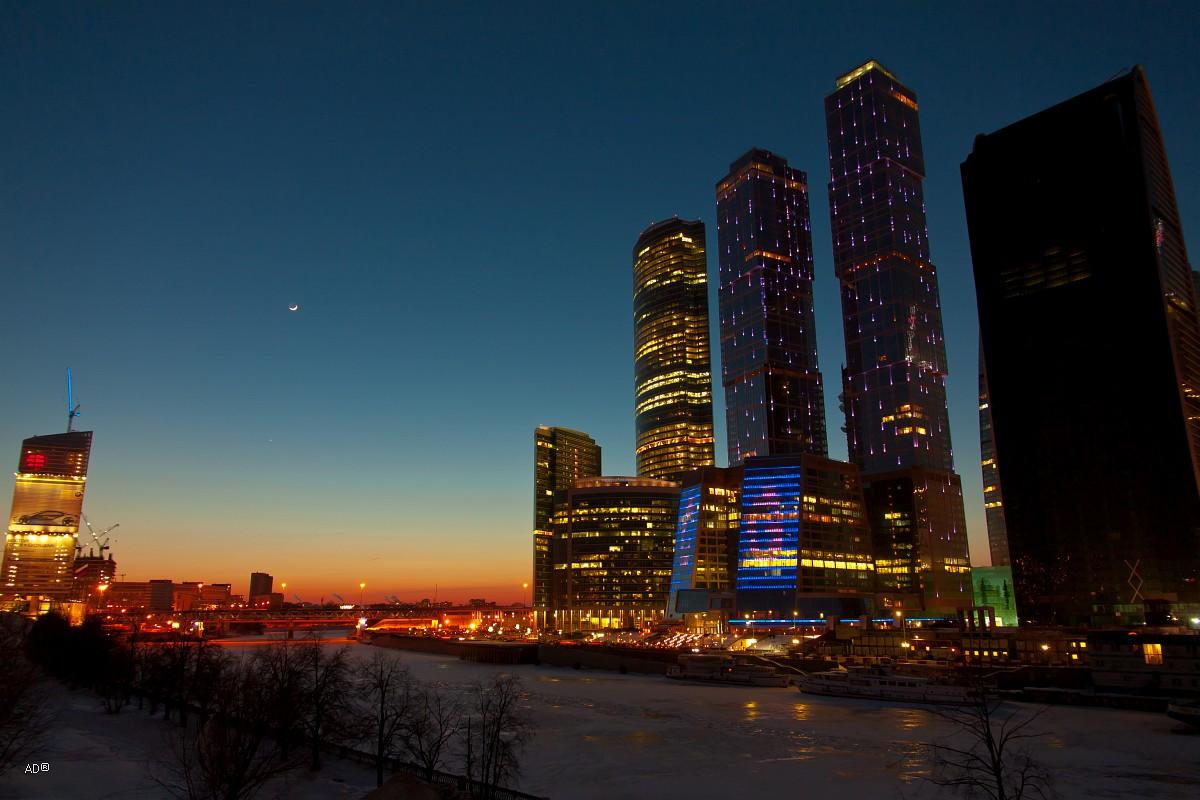 снимках фото москва сити ночь осень можно сварить