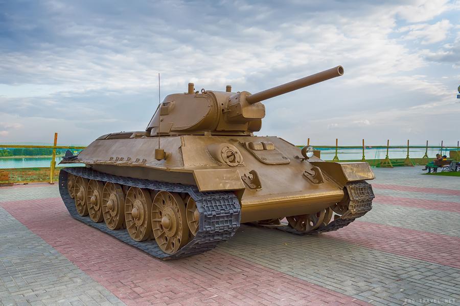 Волгоград, Танк Т-34