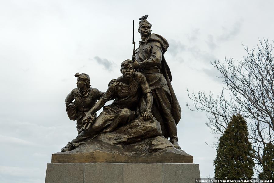 Памятник комсомольцам Севастополя