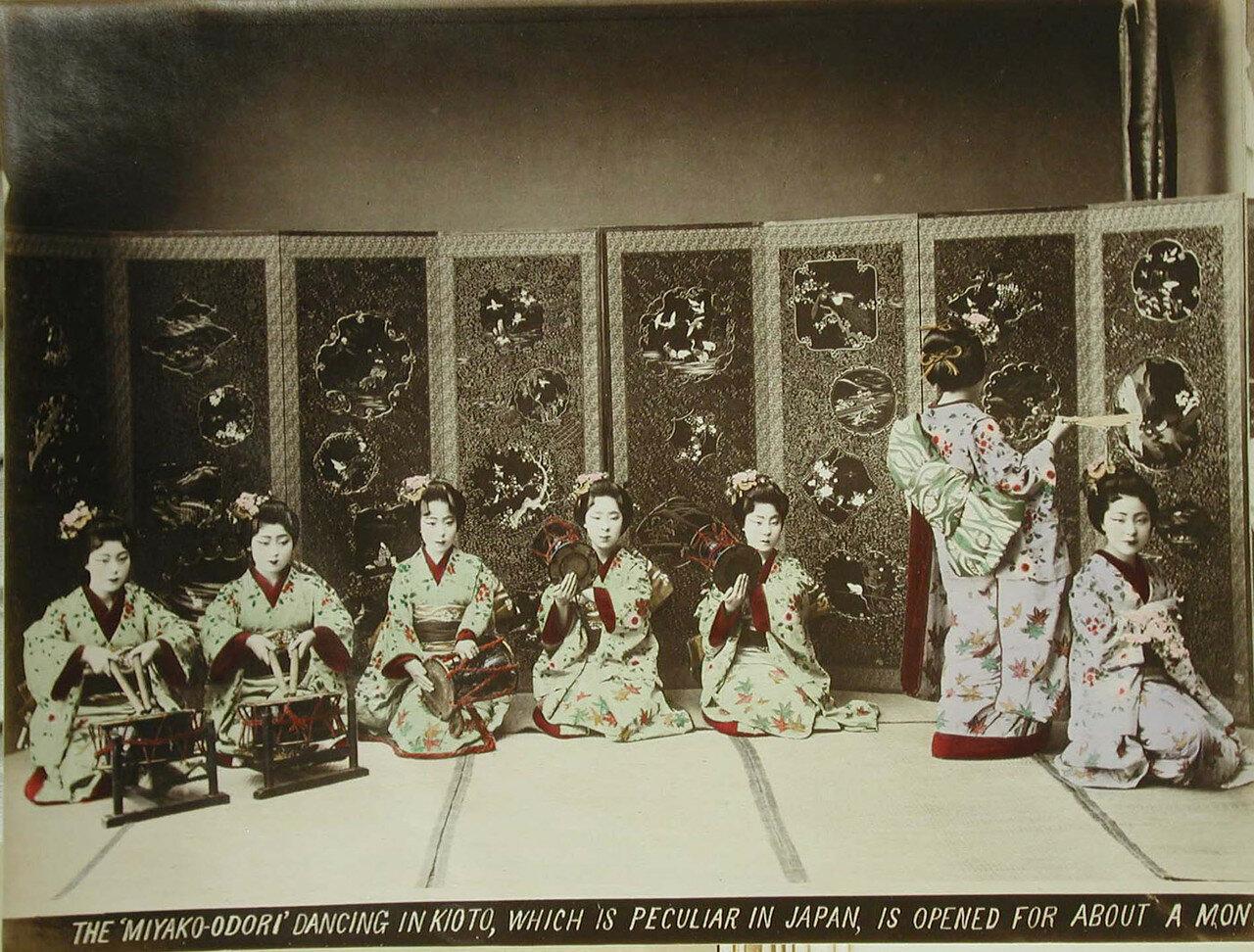 Танцевальный фестиваль гейш в Киото «Мияко одори»