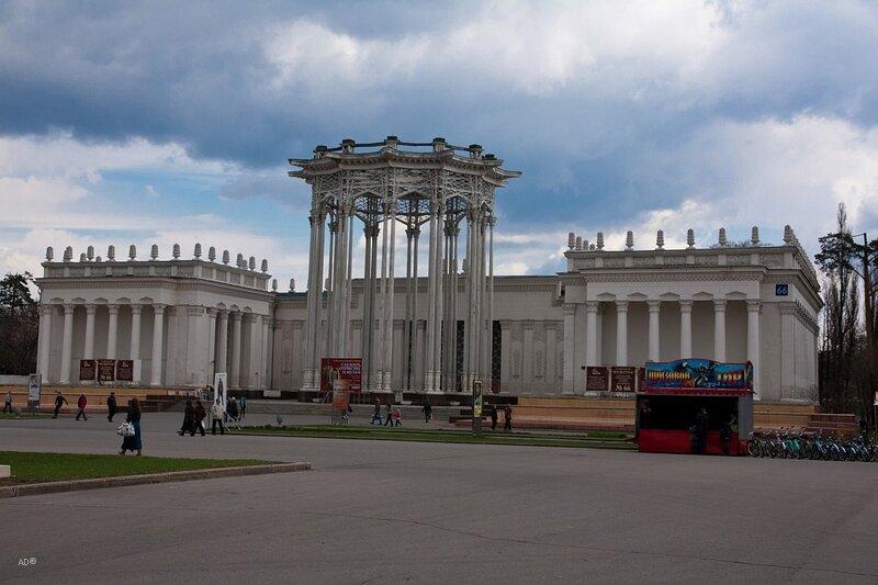 Павильон Узбекской ССР (Культура) на ВДНХ