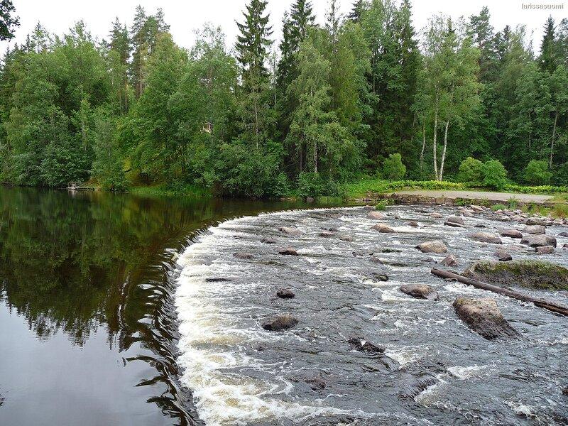 Река Кюми. Южная Финляндия.