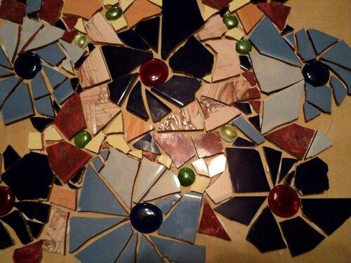 Декорирование столешницы битым кафелем....  0_3e648_508d33e_L