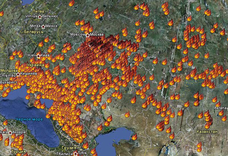 Описание: Ликвидировать крупный лесной пожар в Марий Эл пока не удается.