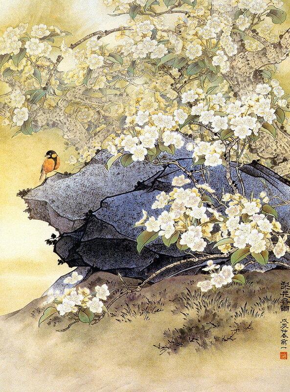 Птицы и природа - картинки / Birds Nature - Painting 20