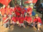 Общая фотка участников областного комсомольского слета