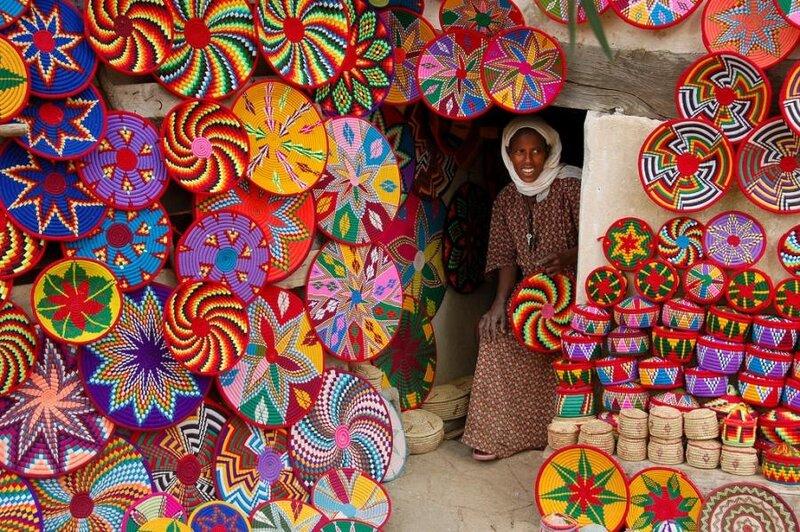 Подарки из Эфиопии