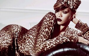 Рианна / Rihanna by Tom Munro in Elle Russia august 2010