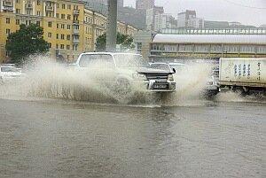 Дождь во Владивостоке