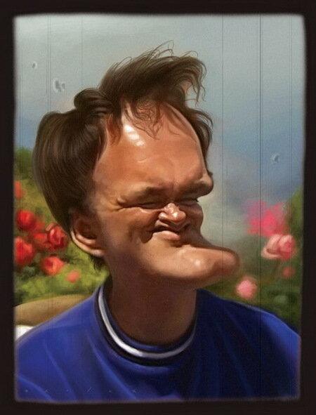 Квентин Тарантино (Quentin Tarantino)Карикатуры Джейсон Сэйлер (Jason Seiler)