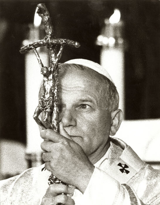Barry Thumma - The Eye of the Pope (Pope John Paul II)