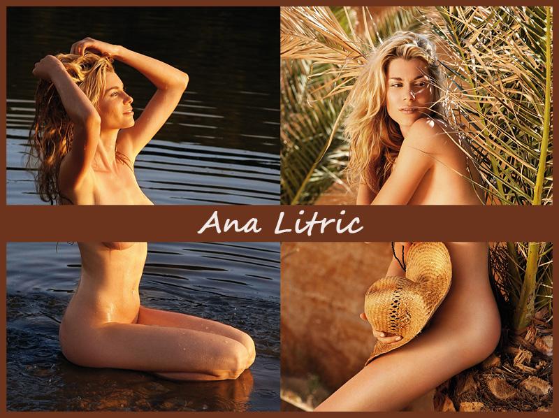 Хорватская модель Ana Litric