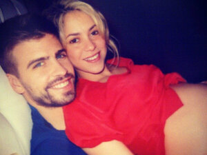 Шакира во второй раз станет мамой