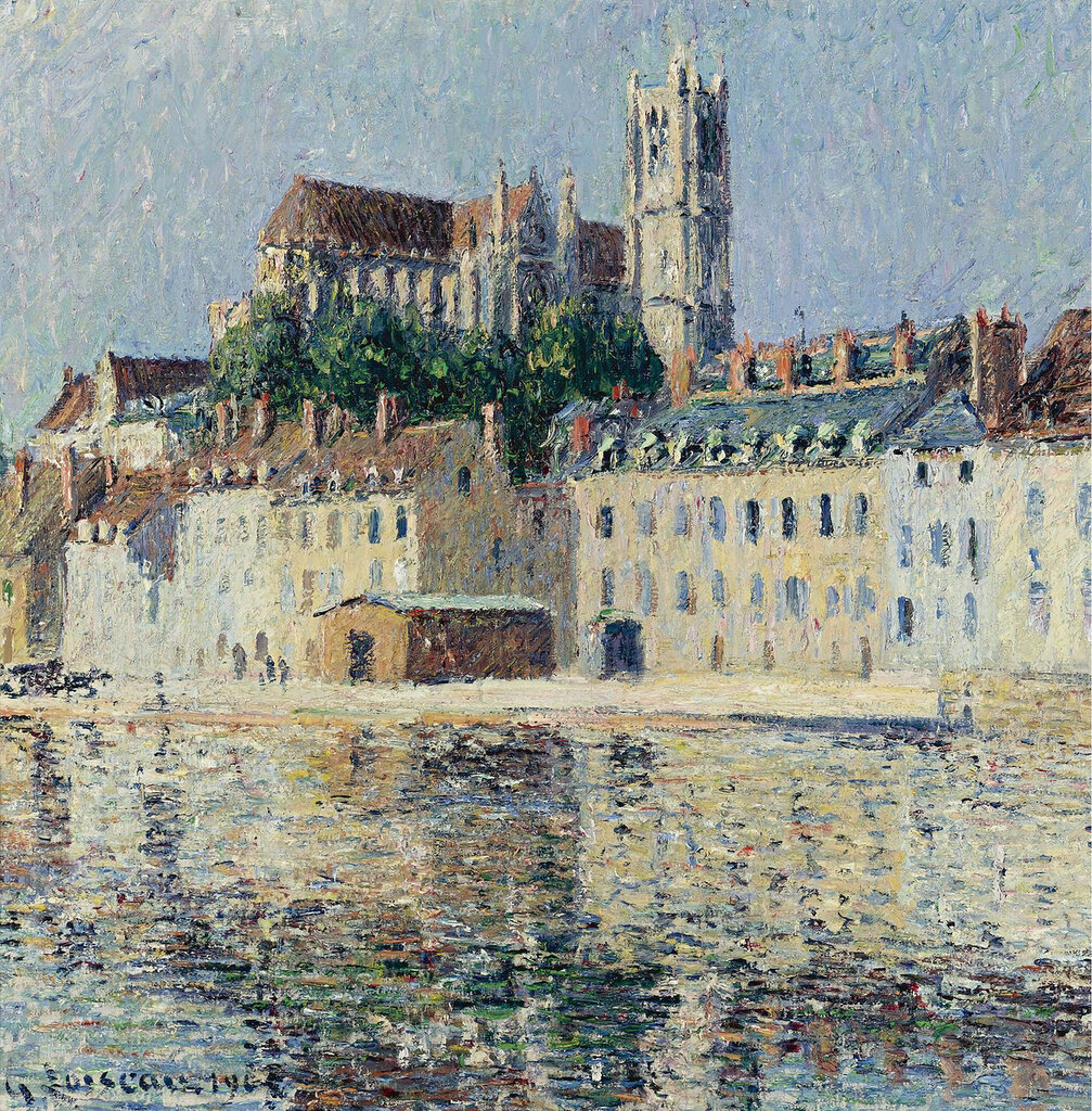 Gustave Loiseau - The Cathedral at Auxserre, 1902.jpeg