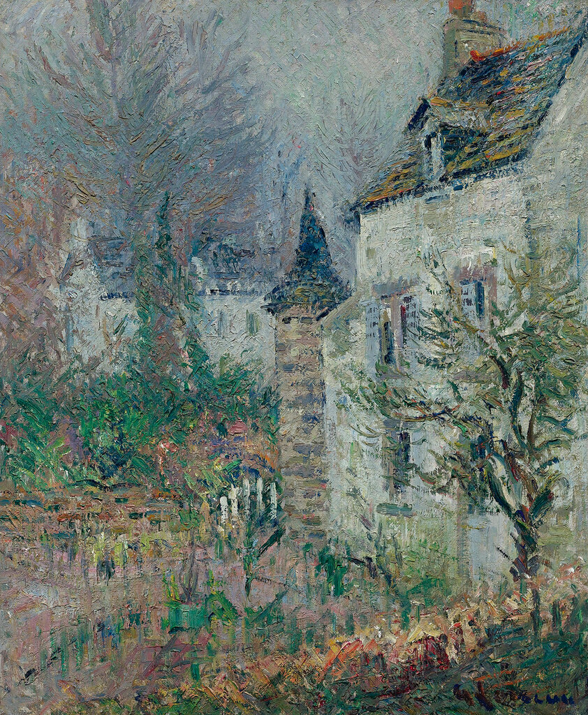 Gustave Loiseau - The Judge`s House, Pont-Aven, 1926.jpg