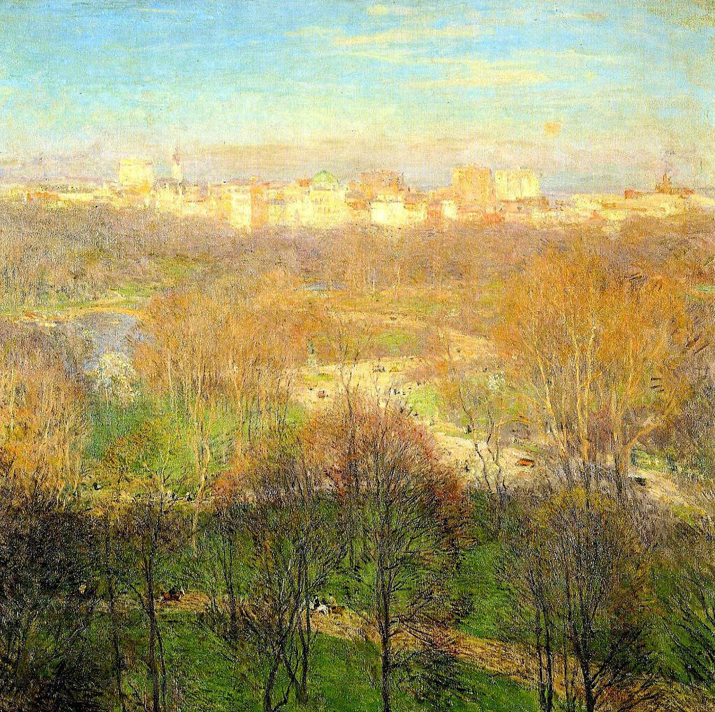 Early Spring Afternoon, Central Park, 1911.jpeg