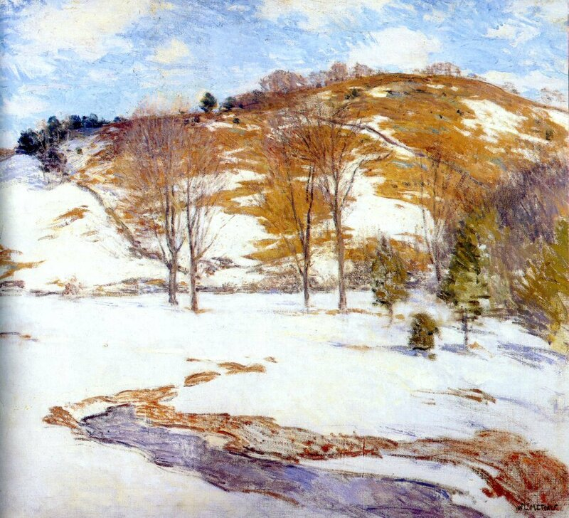 Snow in the Foothills, 1920-25.jpg