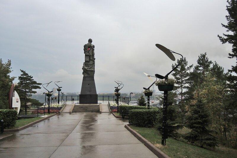 Память шахтерам Кузбасса, монумент