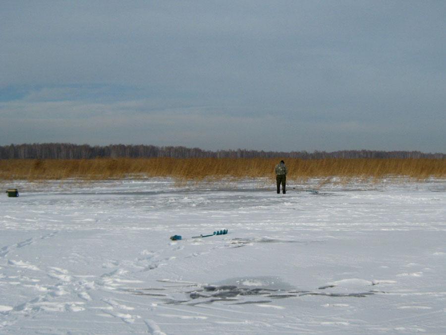 Зимняя рыбалка наСагиштах попервому льду (25.02.2015)