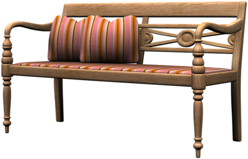 скамейки