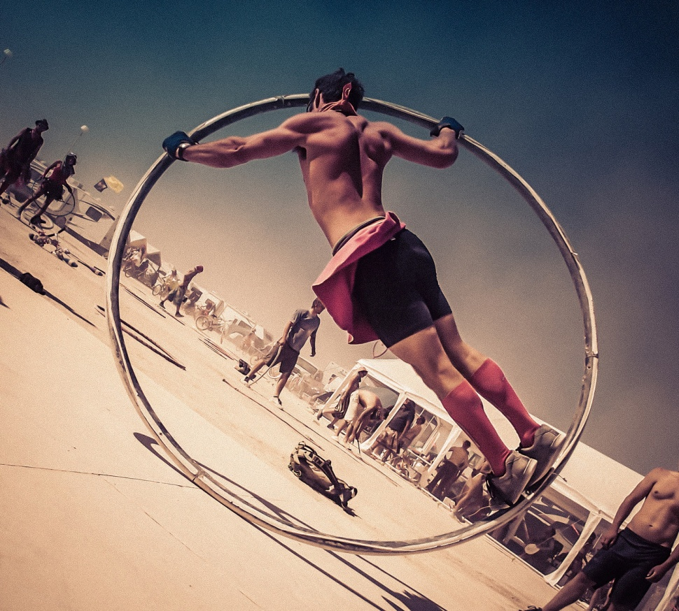 Фотографии (170+) фестиваля Burning Man 2014