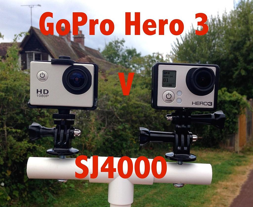 GoPro Hero 3 vs. SJ4000
