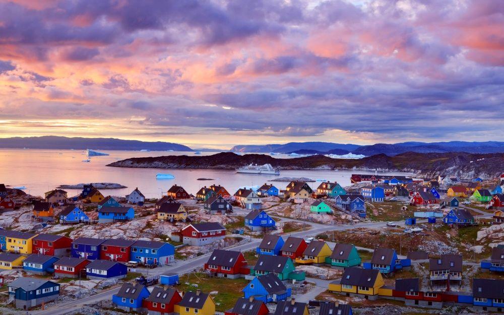 9. Мигдален, Гренландия