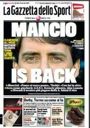 Журнал La Gazzetta dello Sport  (15 Novembre 2014)