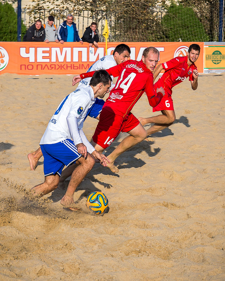 Анапа фото пляжный футбол
