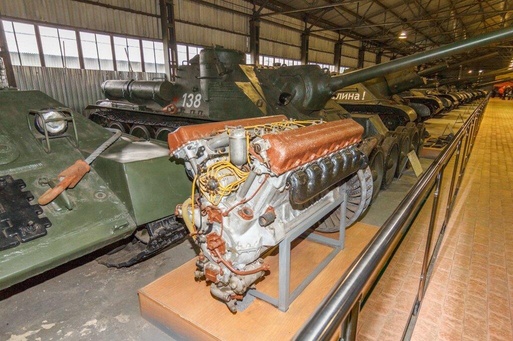 Танковый дизель В-2-34, Кубинка