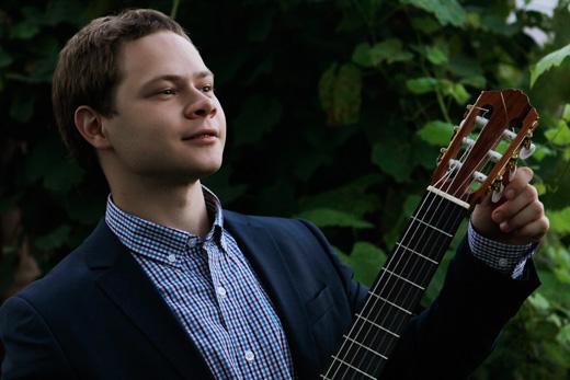 Гитарист Александр АРТЕМОВ