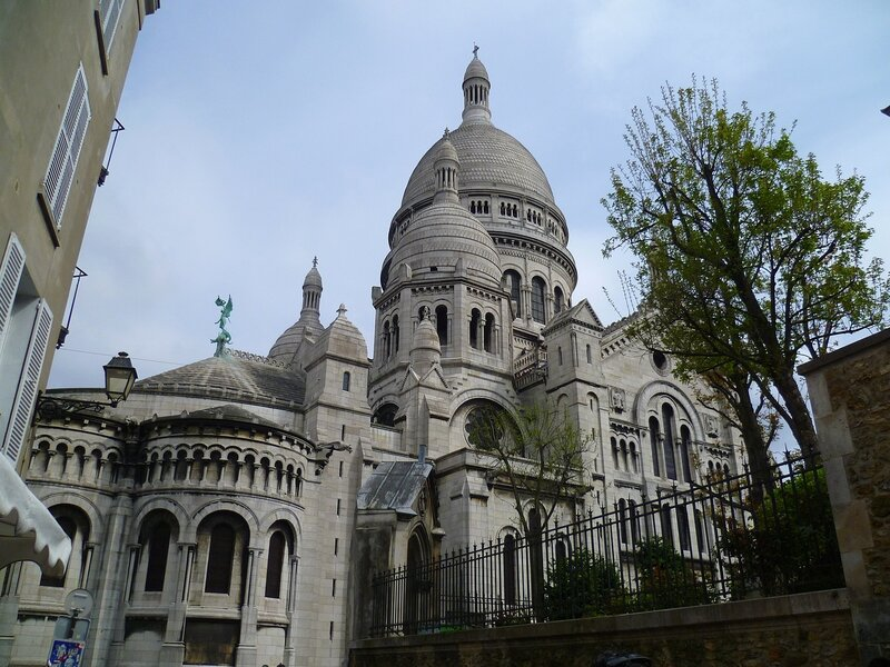 Париж, базилика Сакре-Кер (Paris, the Sacre Coeur)