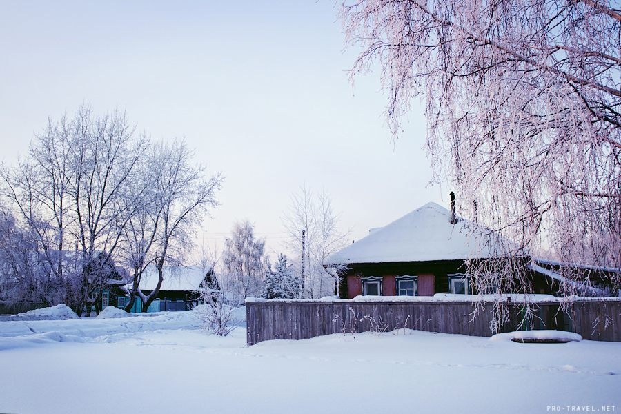 Сибирская зима