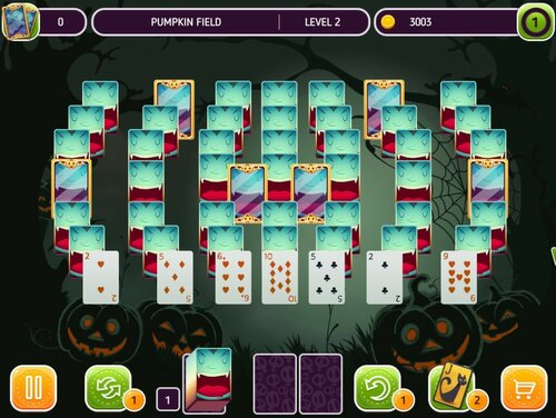 Solitaire: Halloween Story