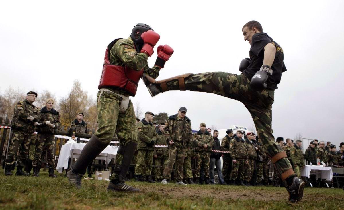 На учебном поле брани: Картинки из жизни бойцов различных спецназов (24)