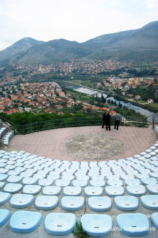 Амфитеатр в монастыре