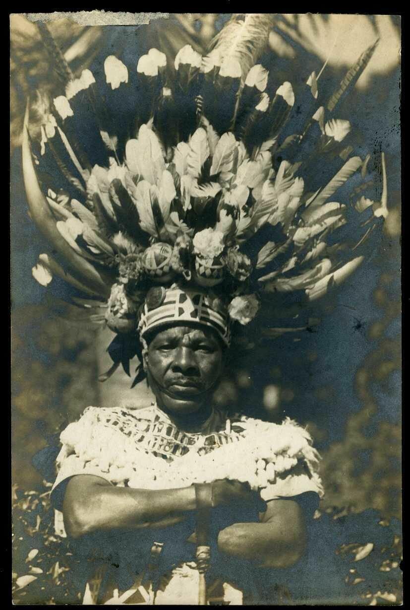 1900. Южная Африка. Местный целитель