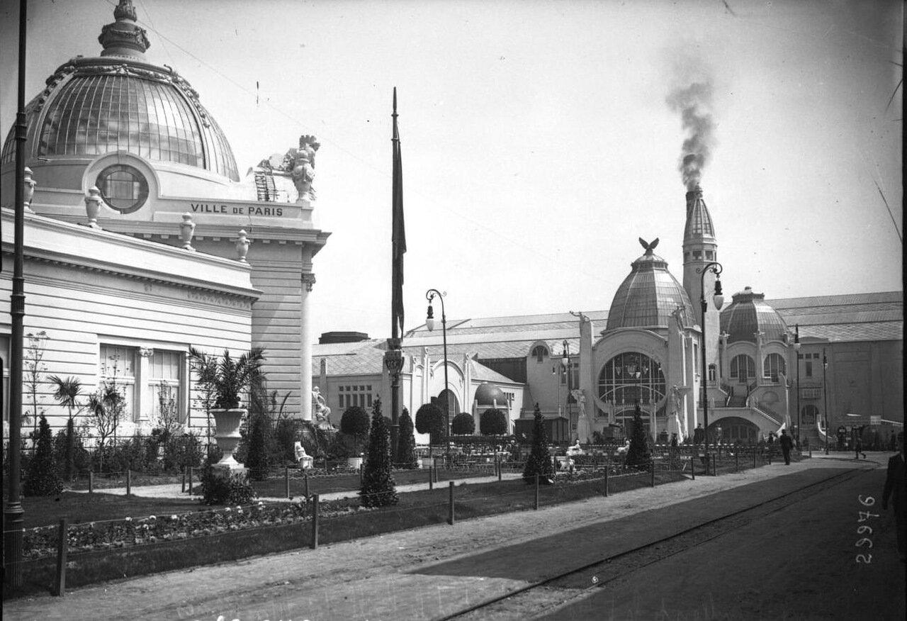 Павильон Парижа и Галерея Машин