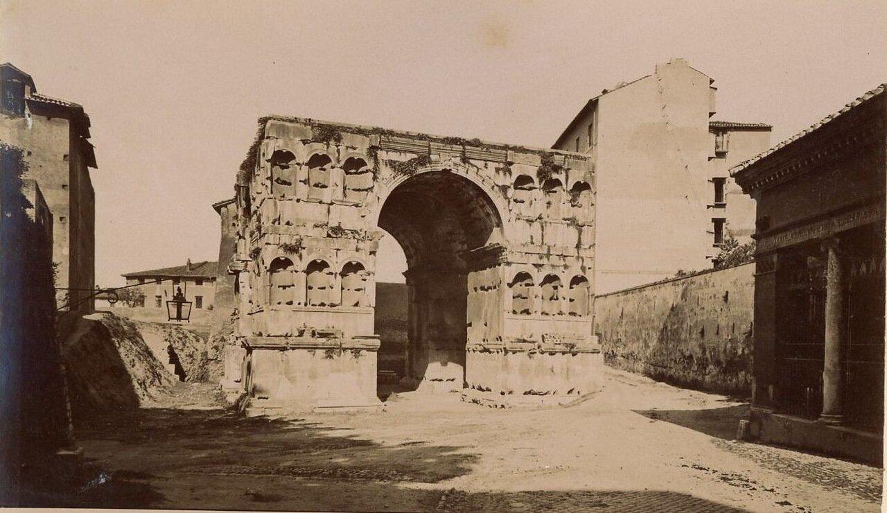 Четырехсторонняя арка Януса
