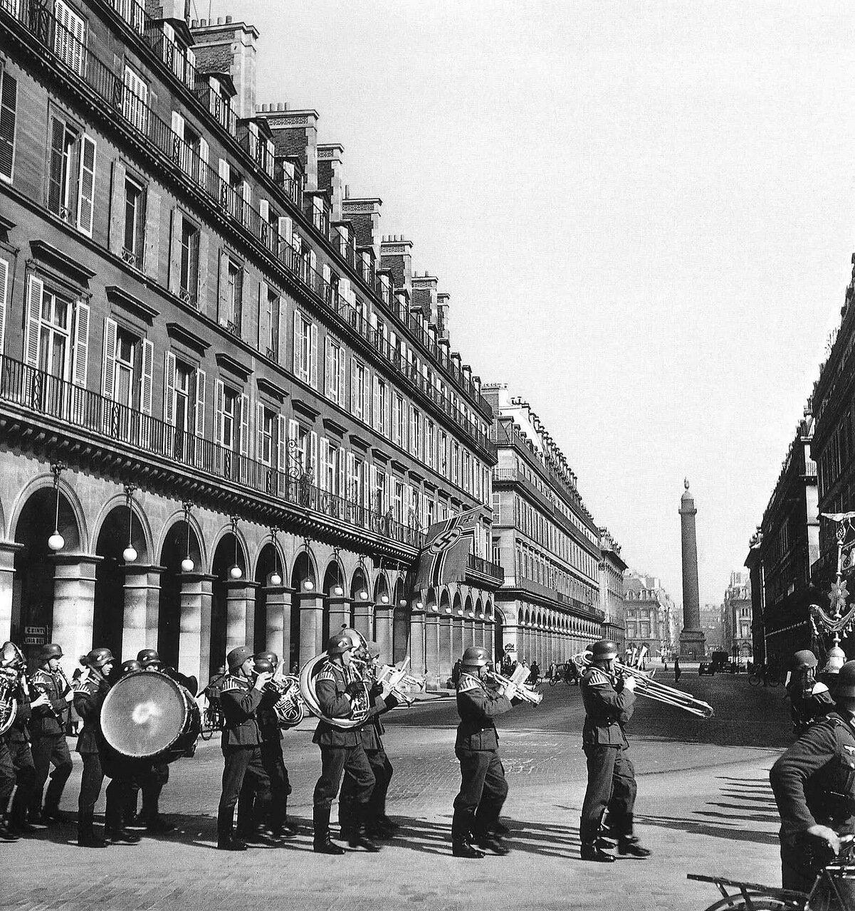 1940. Оркестр в оккупированном Париже