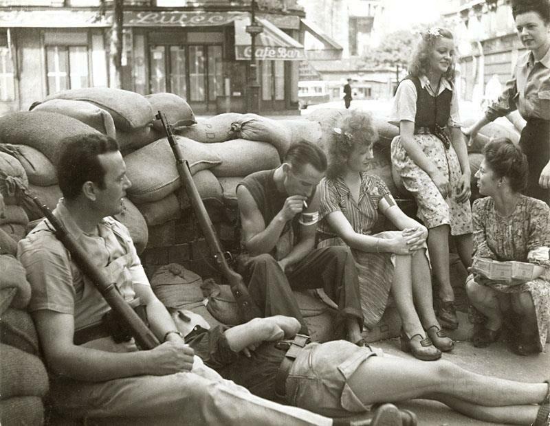 1944. Бойцы Сопротивления. Сен-Мишель